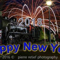 New Year Afternoon Diesel Train