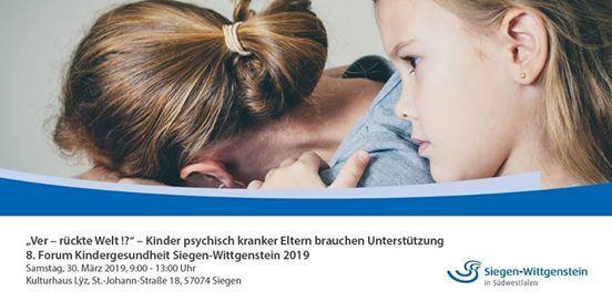 8. Forum Kindergesundheit - Kinder psychisch kranker Eltern
