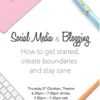 Blogging &amp Social Media Getting Started &amp Staying Sane