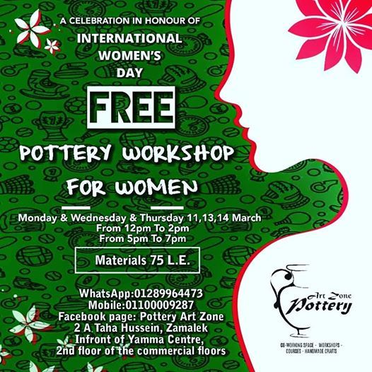 Pottery Workshop For Women