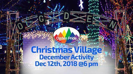 December Social Activity Christmas Village Stroll
