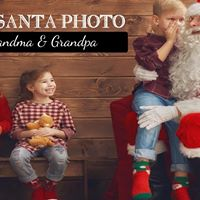 Free Santa Photo for Grandma &amp Grandpa