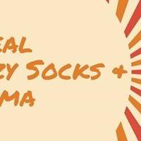 Cereal Crazy Socks &amp Cinema Party
