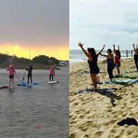 Free Beach Yoga and Paddleboading Meet Up at the Narrows