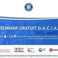 Seminar Gratuit Accesare Fonduri Europene DACIA