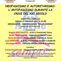 Giornata Antifascista a Grugliasco dibattito pubblico formativo