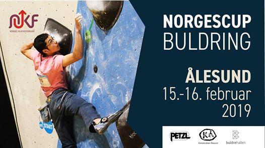Norgescup i buldring lesund