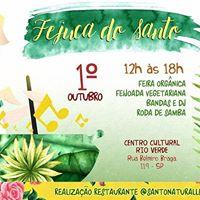 Fejuca do Santo no Centro Cultural Rio Verde