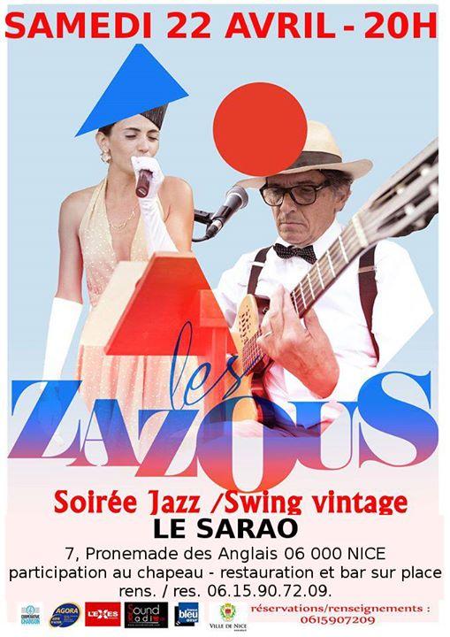 Les zazous jazzswing vintage au SARAO