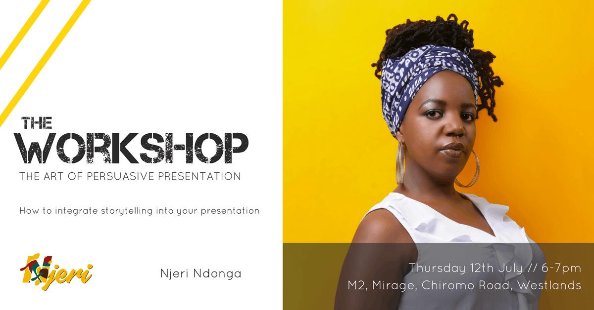 Workshop  The Art of Persuasive Presentation