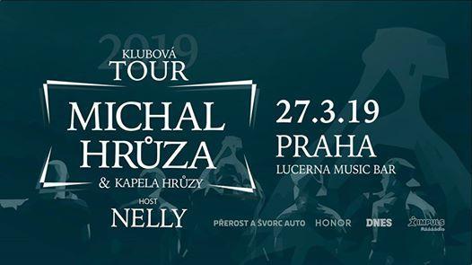 Michal Hrza & Kapela Hrzy host Nelly