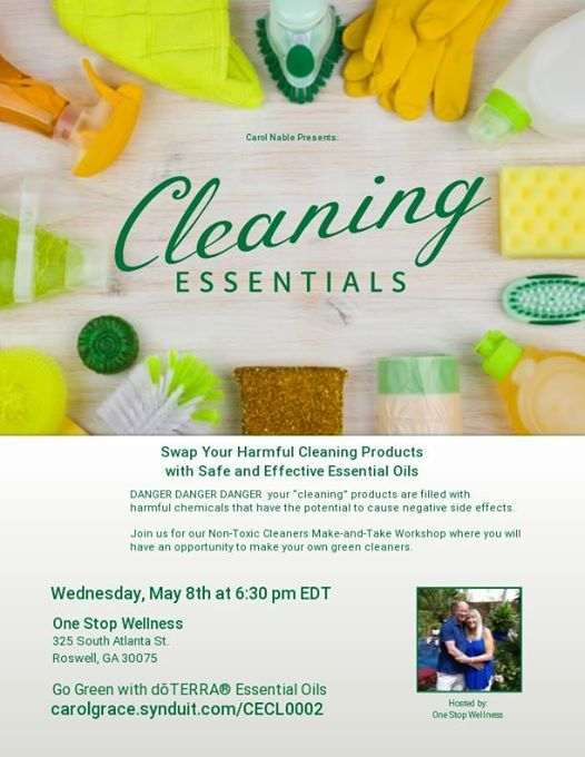 Cleaning Essentials at One Stop Wellness, Roswell