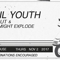 Fossil Youth My Heart Might Explode Hand Out