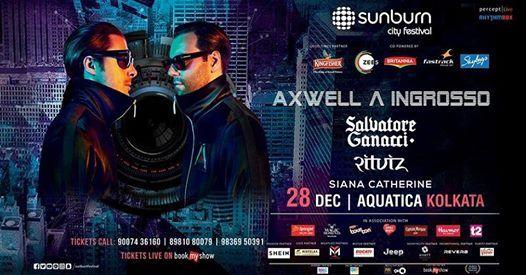 Sunburn City Festival with Axwell Ingrosso & Salvatore Ganacci