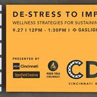 De-stress to Impress