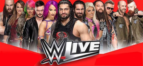 WWE Live at The O2 arena