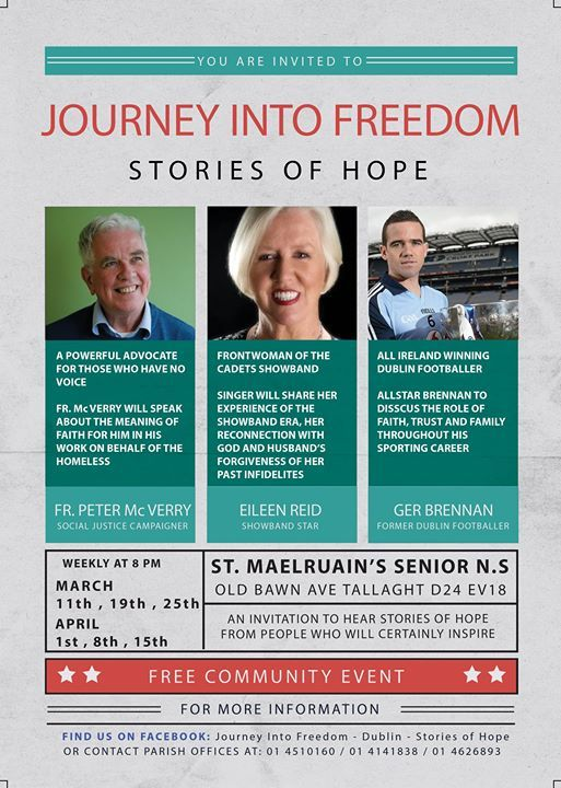 Journey Into Freedom - Dublin - Stories of Hope Session 3
