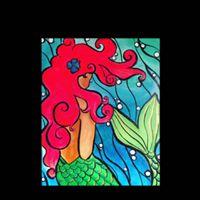 Mermaid Paint Party