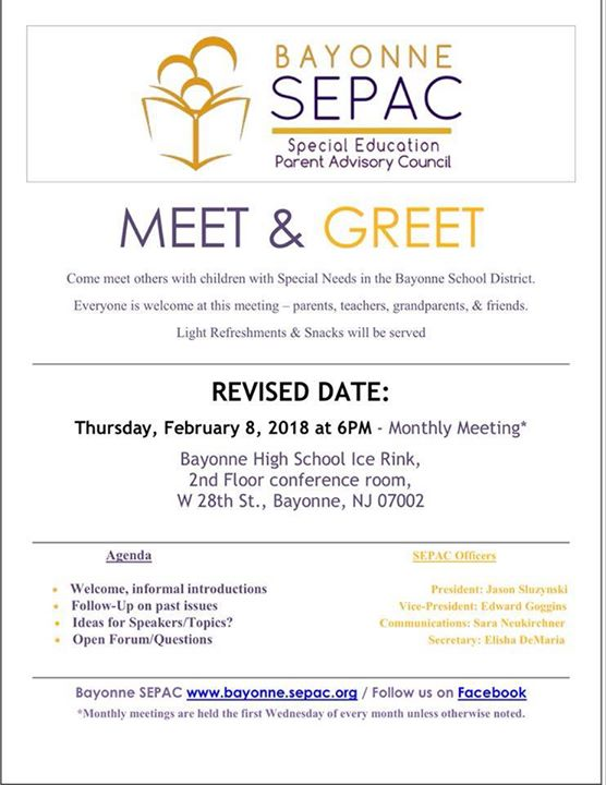 Sepac meet greet mixer at korpi ice rink bayonne sepac meet greet mixer m4hsunfo