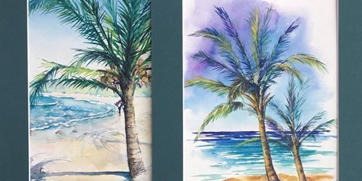 The New Winter Blues Watercolor Workshop