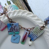 Word Expressions-Enameling workshop with Laura Guenther