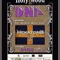 DNA &amp Swedish Metal band Hekatomb at HolyWood Stage