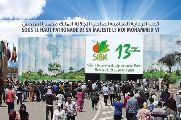 Siam Salon International De Lagriculture Au Maroc At Meknes Meknes