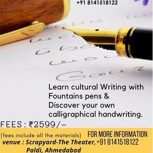 DAFs Fountain Pen Calligraphy Workshop