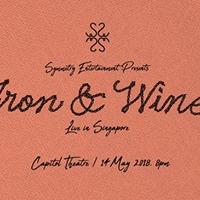 Iron &amp Wine . Live in Singapore