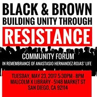 Black and Brown Building Unity Through Resistance
