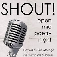 February Shout The Open Mic Poetry Night