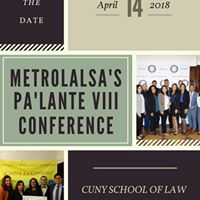 Save the Date Palante VIII Conference