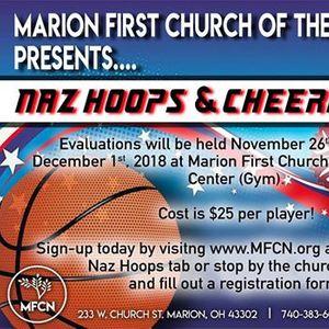 Naz Hoops Cheerleading At Marion 1st Church Of The Nazarene Ohio