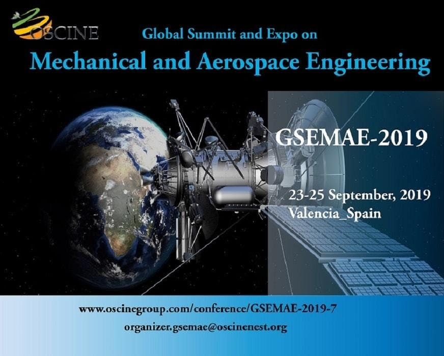 Global Summit and Expo on Mechanical and Aerospace Engineering