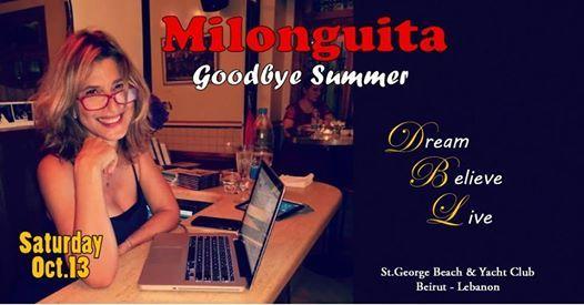Milonguita - Goodbye Summer