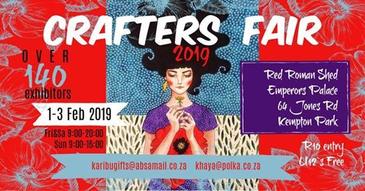 Crafters Fair at Red Roman Shed Emperors Palace