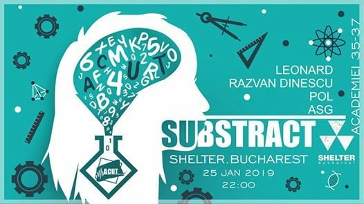 ACUT pres. Substract at Shelter Bucharest