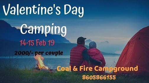 Valentines Day Special Camping