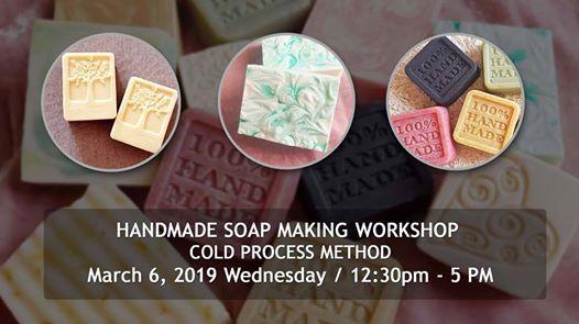 Hand Made Soap Making Workshop - Cold Process Method