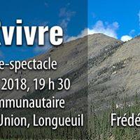 Confrence SURvivre Longueuil-Frdric Dion
