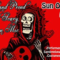 Loud Proud &amp Scary Halloween Open Mic for Hurricane Relief
