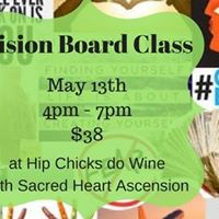 Vision Board and Wine Class