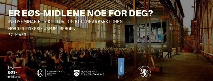 Infoseminar om kulturprogrammet under ES-midlene Bergen