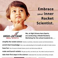 Model Rocketry Workshop for 5 to 15 yrs