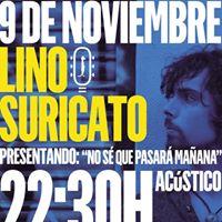 Lino Suricato en Salamanca (Show Acstico)