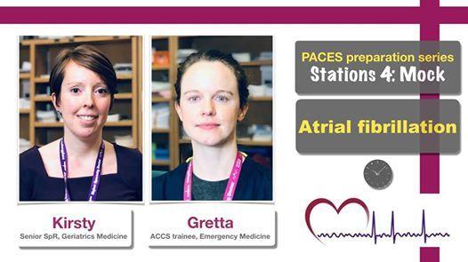PACES station 4) Atrial fibrillation - Mock scenario