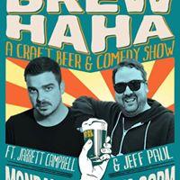 Brew HAHA Comedy Night Abe Erb