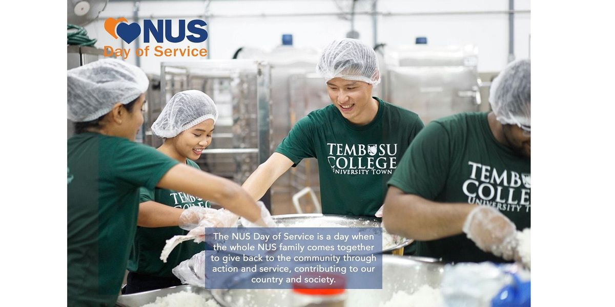 NUS Day of Service 2018 with Tembusu College  Willing Hearts