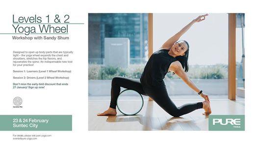 Levels 1 & 2 Yoga Wheel Workshop with Sandy Shum