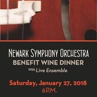 NSO Benefit Wine Dinner at Caffe Gelato Newark De